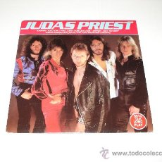Discos de vinilo: JUDAS PRIEST / HELL BENT FOR LEATHER - HOT ROCKIN' - EP 6 TEMAS (3 LIVE) MADE IN ENGLAND 1983!!!. Lote 128263131