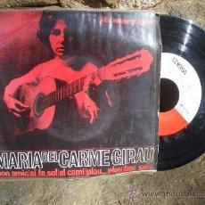Discos de vinilo: MARIA DEL CARME GIRAU ( ELS SETZE JUTGES ): BON AMIC...EP 1964 EDIGSA C.M.N. 37 + INSERTO. Lote 15734863