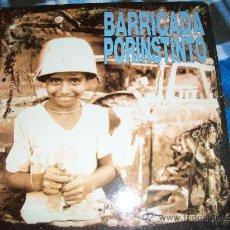 Disques de vinyle: BARRICADA LP POR INSTINTO. Lote 26312591