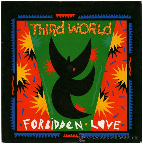 THIRD WORD – FORBIDEN LOVE (WITH RAP) – SG US 1989 – MERCURY MER288 (Música - Discos de Vinilo - EPs - Reggae - Ska	)