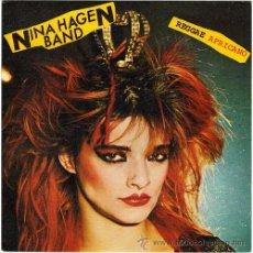 Discos de vinilo: NINA HAGEN BAND – REGGAE AFRICANO – SN SPAIN 1980 – CBS 8304. Lote 15764033