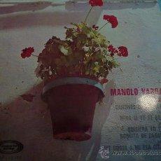 Discos de vinilo: EP MANOLO VARGAS 1968. Lote 26281675