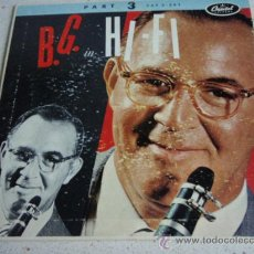 Discos de vinilo: BENNY GOODMAN IN HI-FI VOL.3 ( AIR MAIL SPECIAL - LET'S DANCE - SOMEBODY STOLE MY GAL - BLUE LOU ). Lote 15778133