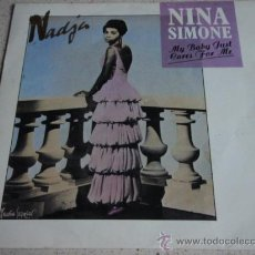 Discos de vinilo: NINA SIMONE – MY BABY JUST CARES FOR ME / LOVE ME OR LEAVE ME SWEDEN,1987 SONET. Lote 15778479