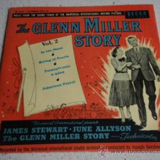 Discos de vinilo: THE UNIVERSAL-INTERNATIONAL ORCHESTRA ?– THE GLENN MILLER STORY VOL.2, 1954 EP DECCA. Lote 15780021