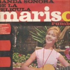 Discos de vinilo: LP BANDA SONORA DE LA PELICULA MARISOL RUMBO A RIO - CANCIONES COMPUESTAS POR ALGUERO & GUIJARRO . Lote 15804006