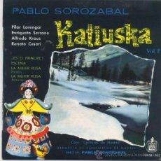 Discos de vinilo: KATIUSKA(ALFREDO KRAUS Y OTROS) VOL 2. Lote 15804250