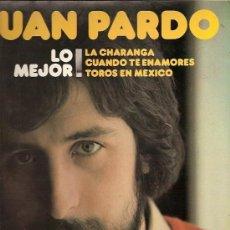 Discos de vinilo: JUAN PARDO LP SELLO DISCOSA AÑO 1981. Lote 15809163