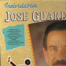 Discos de vinilo: JOSE GUARDIOLA LP SELLO PERFIL AÑO 1991. Lote 15809186