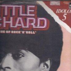Discos de vinilo: LITTLE RICHARD IDOLOS 5. Lote 15819293