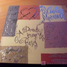 Disques de vinyle: VICTOR MANUEL ( A DONDEIRAN LOS BESOS) LP ESPAÑA 1993 ( 0). Lote 15853615