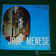 Discos de vinilo: SINGLE JOSE MENESE. . Lote 26029137