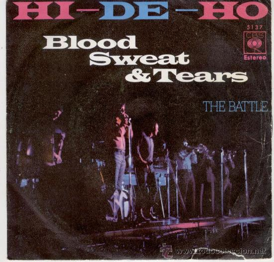 hi-de-ho - blood sweat & tears - Buy Vinyl Singles Pop-Rock ...