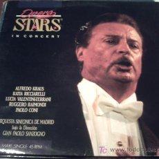 Discos de vinilo: ALFREDO KRAUS-OPERA STARS IN CONCERT MAXI 1990 SPAIN/ PEPETO. Lote 22917857