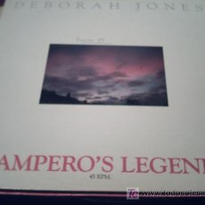 Discos de vinilo: DEBORAH JONES , MAXI: PAMPERO'S LEGEND PEPETO. Lote 15860037