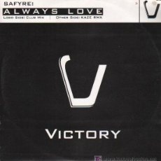 Discos de vinilo: SAFYRE: ALWAYS LOVE - CLUB MIX / KAZE RMX - MAXISINGLE 2002. Lote 15873351