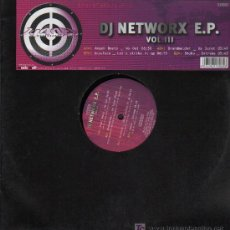 Discos de vinilo: DJ NETWORX E.P. - ANGEL BEATS / BRANDMELDER / ACCUFACE SHOKO - MAXISINGLE 2002. Lote 15873378