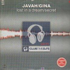 Discos de vinilo: JAVAH/GINA - LOST IN A DREAM/ SECRET - MAXISINGLE 2002. Lote 15926811