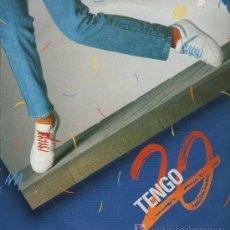Discos de vinilo: TENGO 20 (2 VERSIONES). EL ESPÍRITU DE LOS VEINTE - MAXISINGLE 1987. Lote 15938009