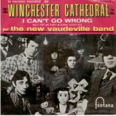 Discos de vinilo: THE NEW VAUDEVILLE BAND - WINCHESTER CATHEDRAL - EP. Lote 15907026