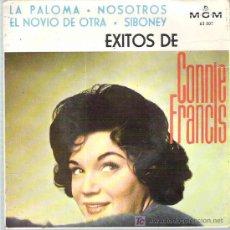 Discos de vinilo: CONNIE FRANCIS - EXITOS DE CONNIE FRANCIS *** LA PALOMA - MGM 1964 EP. Lote 15907493