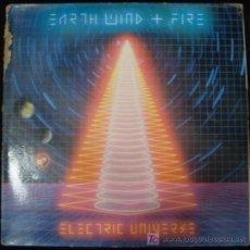 Discos de vinilo: LP EARTH WIND AND FIRE. ELECTRIC UNIVERSE.. Lote 15914499
