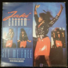 Discos de vinilo: LP DE JAKI GRAHAM. SET ME FREE.. Lote 15916265