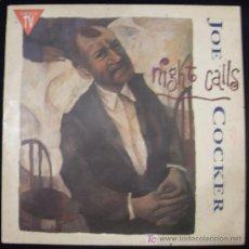 Discos de vinilo: LP DE JOE COCKER. NIGHT CALLS.. Lote 30506114