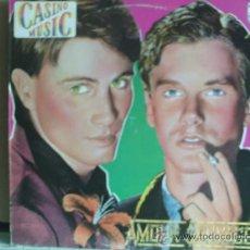 Discos de vinilo: CASINO MUSIC ---- AMOUR SAUVAGE. Lote 15920265