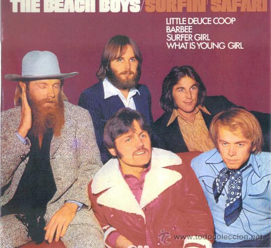 THE BEACH BOYS. SURFIN' SAFARI (VINILO LP ESPAÑOL 1974) (Música - Discos - LP Vinilo - Pop - Rock - Internacional de los 70)