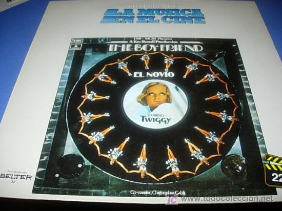 LA HISTORIA DE LA MUSICA EN EL CINE .Nº 22.- THE BOY FRIEND (Música - Discos - LP Vinilo - Bandas Sonoras y Música de Actores )