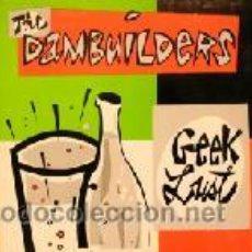 Discos de vinilo: THE DAMBUILDERS LP GEEK LUST PRECINTADO, NUEVO. Lote 26936593