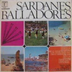Discos de vinilo: SARDANES BALLADORES - COBLA LA PRINCIPAL DE LA BISBAL - 1968. Lote 26952576