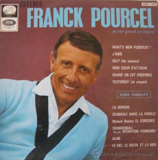 FRANK POURCEL ET SON GRAND ORCHESTRE - 1966 (Música - Discos - LP Vinilo - Orquestas)