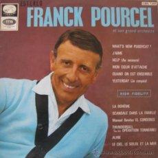 Discos de vinilo: FRANK POURCEL ET SON GRAND ORCHESTRE - 1966. Lote 20617236