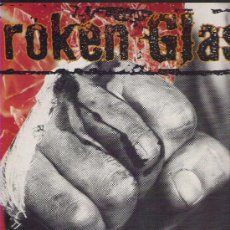 Discos de vinilo: BROKEN GLASS - A FAST MEAN GAME ** 1990 ESPAÑA LP . Lote 16996199