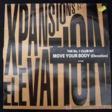Discos de vinilo: LP DE SPANSIONS ELEVATION. MOVE YOUR BOBY.. Lote 15952153