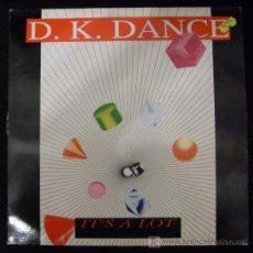 Discos de vinilo: LP DE D. K. DANCE. IT´S A LOT.. Lote 15952270