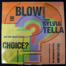 Discos de vinilo: SINGLE DE THE BLOW MONKEUS. SYLVIA TELLA.. Lote 15952288