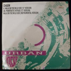 Discos de vinilo: SINGLE DE URBAN. CHARM. WALK ON THE WILD SIDE.. Lote 15952314