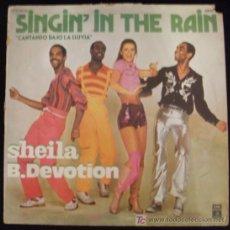 Discos de vinilo: LP DE SHEILA B. DEVOTION. SINGIN´ IN THE RAIN. CANTANDO BAJO LA LLUVIA.. Lote 15973932