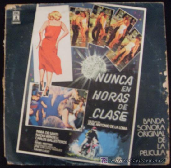LP DE BANDA SONORA ORIGINAL DE LA PELICULA NUNCA EN HORAS DE CLASE. (Música - Discos - LP Vinilo - Bandas Sonoras y Música de Actores )
