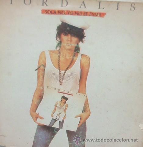 FIORDALISO - SOLA NO, YO NO SE ESTAR / OLTRE IL CIELO - SINGLE DE 1985***** (Música - Discos - Singles Vinilo - Canción Francesa e Italiana)