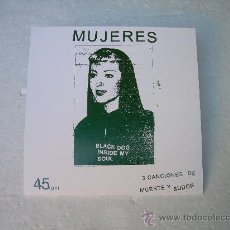 Discos de vinilo: SINGLE EP MUJERES YELLA +2 BLACK LIPS INDIE PUNK VINILO. Lote 27352311