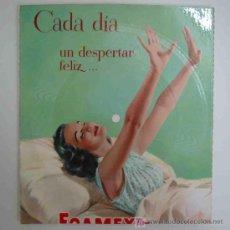 Discos de vinilo: DISCO FLEXIBLE PUBLICIDAD FOAMEX - FIRESTONE - CANDILEJAS DE CHARLIE CHAPLIN. Lote 16002728