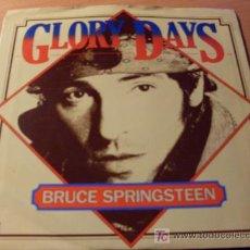 Discos de vinilo: BRUCE SPRINGSTEEN ( GLORY DAYS ) 45 RPM 1985 USA (NM/ NM). Lote 16015971