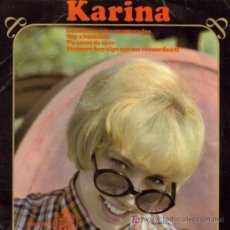 Discos de vinilo: KARINA: CONCIERTO PARA ENAMORADOS..., EP HISPAVOX, 45 RPM, 1966. Lote 26449717