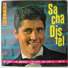 Discos de vinilo: SACHA DISTEL - TING TOUNG - EP DE 1963. Lote 16026807