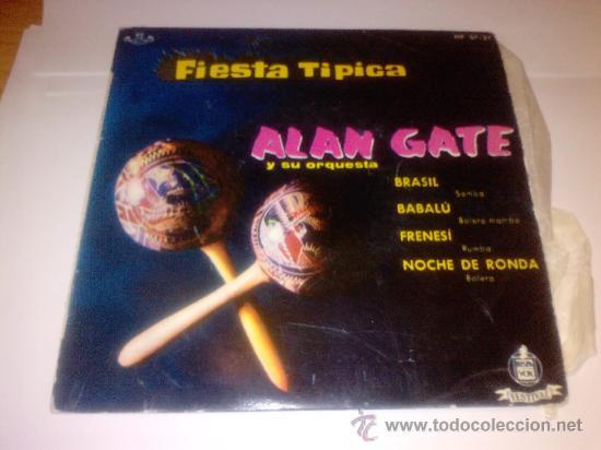 ALAN GATE (BRASIL) (Música - Discos - Singles Vinilo - Orquestas)