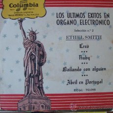 Discos de vinilo: ETHEL SMITH - SELECCION Nº2 - EP COLUMBIA 50'S. Lote 26031146